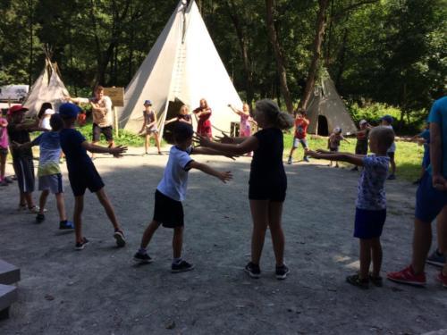 Prímestský tábor Veľké dobrodružstva indiánov  2019