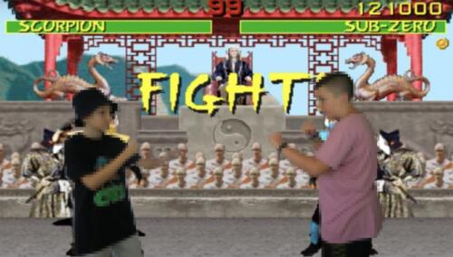 Oliver K.  David M. – Mortal Kombat