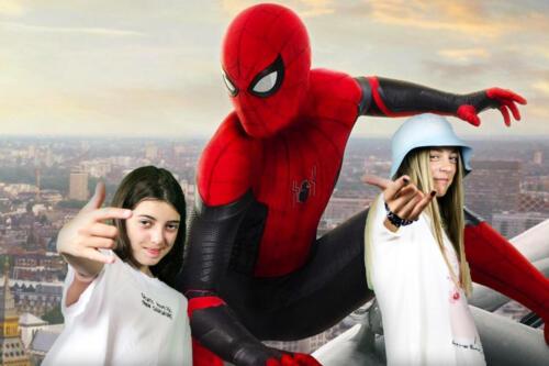 Natália F.  Vaness Cimm. – Spiderman